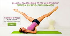 Pilatesology - awesome pilates website for traveling!