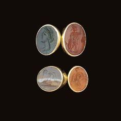 THREE ROMAN RING STONES CIRCA 1ST-2ND CENTURY A.D.