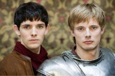 Colin Morgan and Bradley James Interview MERLIN. An interview with Colin Morgan and Braldey James who star on the Syfy series Merlin. Bradley James, Merlin And Arthur, King Arthur, Merlin Cast, Emrys Merlin, Prince Arthur, Merlin Fandom, Merlin Colin Morgan, James Arthur