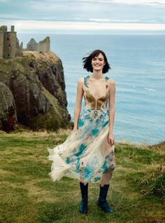 Sam Rollinson by Agata Pospieszynska for Harper's Bazaar UK March 2017