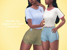 NOLAN TOP!!  a cute lil tied tee for your simmies. a big thanks to @nolan-sims and @escapingpotplant (aka the blender god) for all your help!!  requires laundry day stuff and comes in 5 swatches. hope ya like it ^-^  download:...