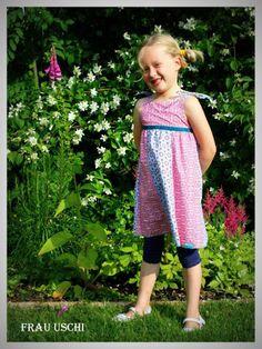 lillesol & pelle Schnittmuster/ pattern: Trägerkleid