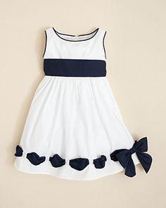 Biscotti Toddler Girls Ship Shape Empire Waist Dress - Sizes 2T-4T | Bloomingdales