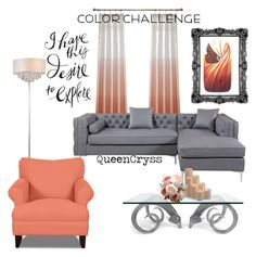 """""""Untitled #33"""" by queencryss on Polyvore featuring interior, interiors, interior design, home, home decor, interior decorating, Jonathan Adler, NOVICA, INC International Concepts and Frontgate"""