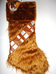 Amazon.com - Star Wars Chewbacca Christmas Stocking 18 Inch - Christmas Decor