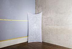 | Serena Confalonieri | Navy | self produced hand-made tablecloth