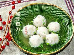 田园时光美食 福州包心鱼丸Fuzhou fish balls with fillings