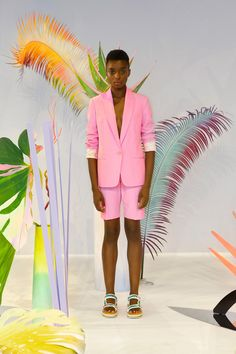 Tanya Taylor Spring 2020 Ready-to-Wear Collection - Vogue Vogue Russia, Blush Roses, Color Stories, Fashion Show, Fashion Trends, Pretty In Pink, Ready To Wear, Spring Summer, Style Inspiration