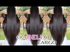 Como Tener El Cabello Liso Natural Pelo Lacio Sin Calor ♡ Bessy Dressy - YouTube
