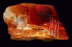Carnelian- Associated with courage/ Promoted peace and harmony and to dispel depression, healing, and sexual energy.