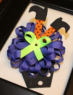 Halloween Bow for Madi