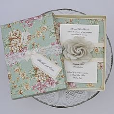 Check out these five fabulous finishing touches for a vintage wedding theme, perfect for DIY brides. On a budget but love the vintage look? Make Your Own Wedding Invitations, Box Wedding Invitations, Diy Wedding Stationery, Card Box Wedding, Wedding Paper, Bridal Shower Invitations, Invites, Shabby Chic Invitations, Vintage Invitations