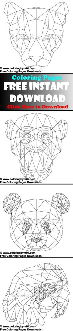 line art coloring pages for adults
