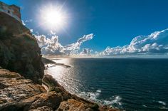 Castelsardo by memba  Italien Meer Küste Sonne Castelsardo Wolken Sardinien memba