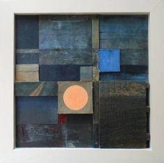 "Saatchi Art Artist Liam Hennessy; Collage, ""Under The Surface (relief construction)"" #art"