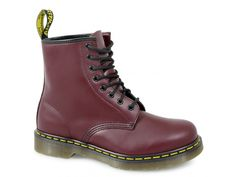 Dr Martens 1460 Unisex Classic Airwair 8 Eye Boots Cherry Red