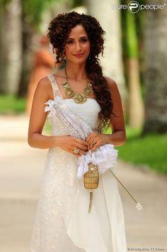 "Camila Pitanga as Isabel in brazilian novel ""Lado a Lado"" (2012)."
