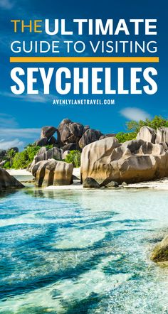 A complete guide to visiting the Seychelles Islands off the coast of Africa. It is the perfect place to travel to on a honeymoon or just a family vacation. Click through to read more!