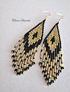 Cuentas pendientes estilo americano nativo Beadwork semilla