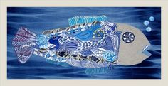 Buy Big Blue, XL linocut, textile collage with embroidery, Linocut by Mariann Johansen-Ellis on Artfinder. Discover thousands of other original paintings, prints, sculptures and photography from independent artists.
