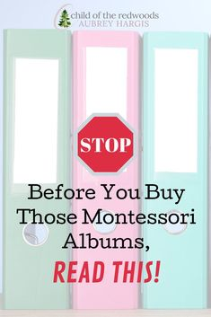 You're looking for a Montessori curriculum and you stumble upon those expensive Montessori albums and wonder: are they worth it? Before you buy, there are some things you need to know! Gentle Parenting, Parenting Hacks, Montessori Homeschool, Homeschooling, Online Album, Positive Discipline, Training Center, Child Development, Need To Know