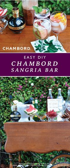 No matter the occasion, a fruity cocktail is always a good idea! From outdoor parties to girl's nights, this Chambord Sangria Bar makes entertaining a breeze. With endless flavor variations featuring Chambord raspberry liqueur, check out what other essentials you'll need—like fresh summer fruit and garnishes—before hosting your girlfriends.