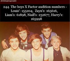 One Direction Facts♡