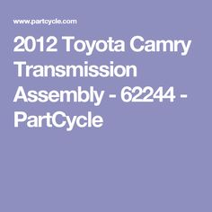 Used 2014 Ford Transmission Assembly - 01423 - PartCycle Used Ford F150, Used Toyota Camry, Used Car Parts, Engine, Motor Engine, Motorcycle
