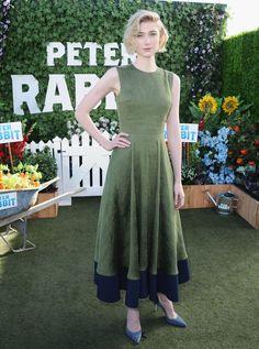 Elizabeth Debicki wearing Roksanda at the World Premiere of Peter Rabbit in LA