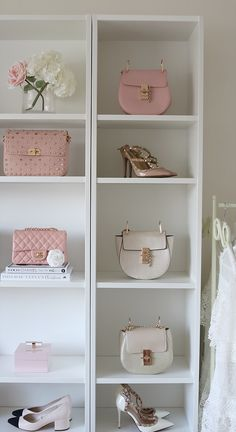 Fill your closet with the most Beautiful Accessories. Fill your closet with the most Beautiful Accessories. Modern Closet, Glam Closet, Closet Collection, Closet Designs, Beauty Room, Dream Rooms, Dressing Room, My Room, Interior Design Living Room