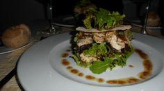 Chicken salad at Andor Violeta