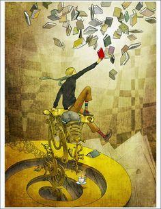 Atrapa ese libro! Lee y atrapa el conocimiento (ilustración de Yoko Tanji)