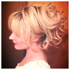 Holiday Hair! #updo #illusionscolorspa