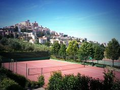 Adding this beautiful hillside court to our bucket list Nike Tennis, Great View, Life Is Good, Around The Worlds, Italy, Places, Sports, Beautiful, Instagram