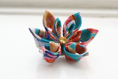 Japanese Hair Accessory Kimono Hair Flower / by cuttlefishlove
