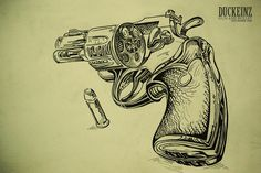 Gun And Bullet Tattoo Designs Bullet and gun tattoo designs