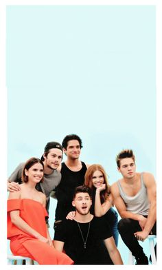 """Teen Wolf IPhone Wallpaper"" by just-eating-nutella ❤ liked on Polyvore featuring art"