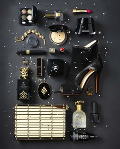 Fashion & Beauty Werf in JAN Magazine Photography by Frank Brandwijk | 'Black Gold' 'Accessories & Makeup Product Stills'
