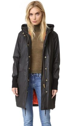 SMYTHE Dark and Stormy Anorak | SHOPBOP