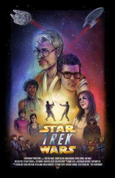 Star Trek Wars (2015) - [A Star Wars vs. Star Trek Comedy Fan Film]