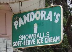Pandora's Snowballs in New Orleans