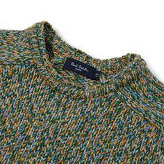 Paul Smith Knitwear | Green Twisted Yarn Jumper