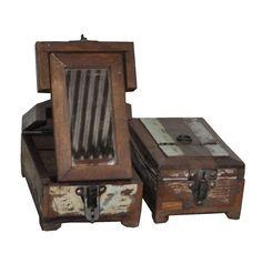 Vintage Barber Box