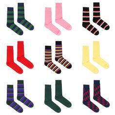 Rowing Blazers, Crazy Socks, Nintendo Games, Tights, Logos, Fashion, Navy Tights, Moda, Fashion Styles