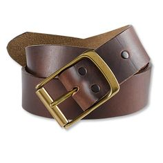 Orvis:The Heritage Leather jeans belt is a must-have back-to-school accessory for the boys, and boys at heart, in your home.