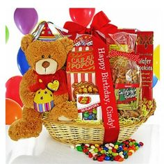 Happy Birthday Surprise Gift Basket