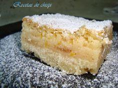 Recetas de Chispi: CORTADILLOS DE LIMÓN( LEMON BARS)