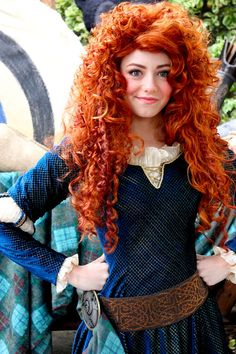just-pennies:    Welcome to Disneyland, Merida. Let's kick some ass.  , by ourdisneydays.