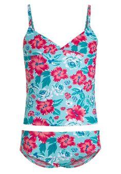 Schiesser HAWAII Badeanzug türkis für Mädchen -