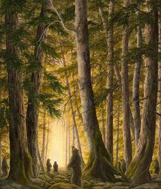 The Portal - Bear Art by Robert Bissell | Lahaina Galleries | 949-721-9117